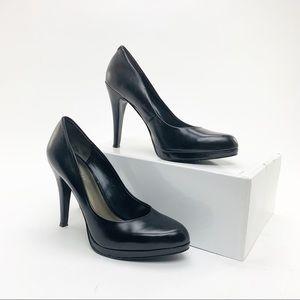 Black Nine West heels sz 7